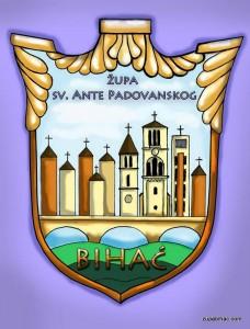 Logo župe Bihać