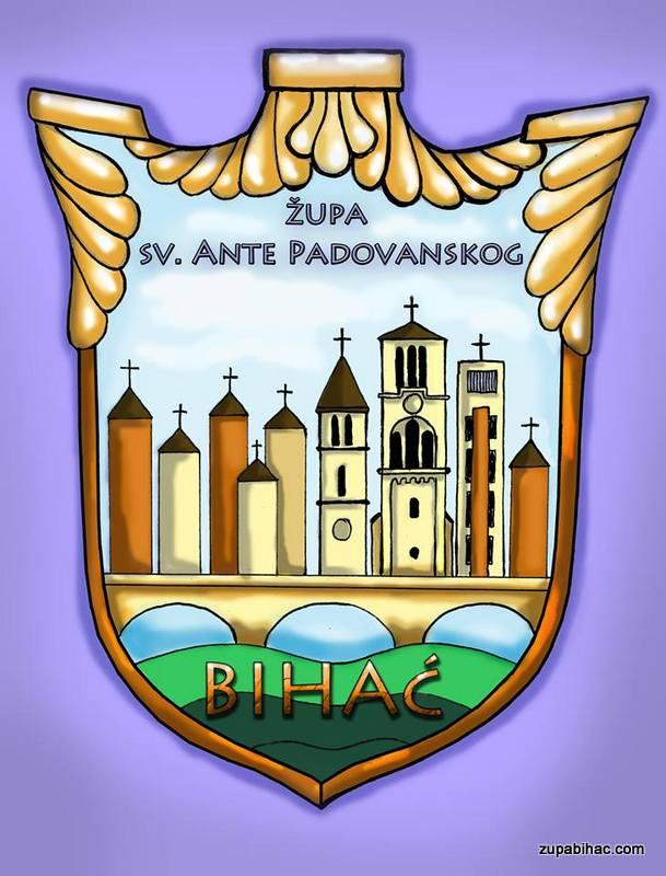 Logo župe i frame Bihać