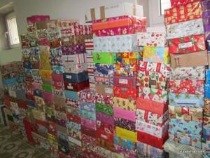 Božićni paketići, 2013.