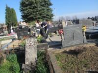 Čišćenje grobalja u našoj župi