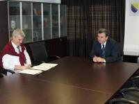 Članovi međureligijskog vijeća kod načelnika Galijaševića