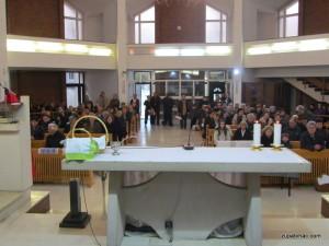 Uskrsni blagoslov jela - župna crkva