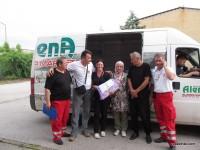 Humanitarni konvoj Crvenog križa/krsta Bihać upućen Orašju.