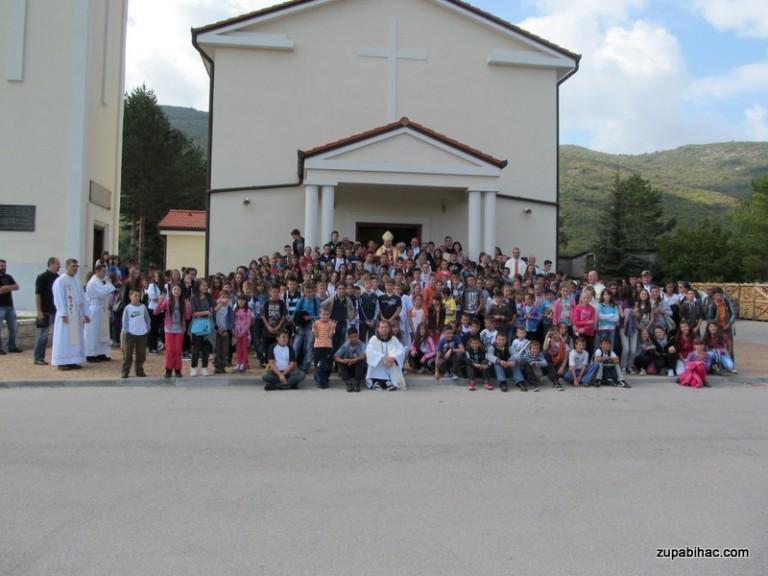Ministrantsko zborovanje 2013. banjolučke biskupije u Odžak-Ćaiću
