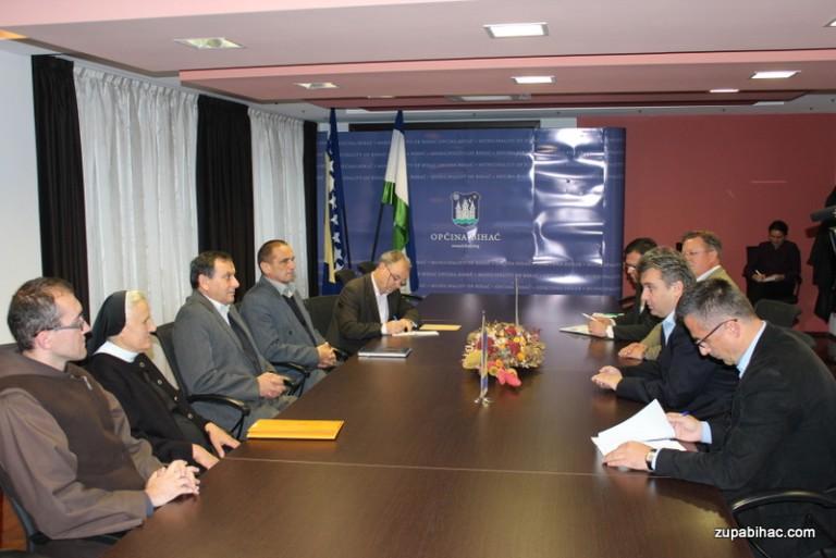 Načelnik Galijašević primio predstavnike katoličke zajednice u Bihaću