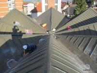 Saniranje krova župne crkve