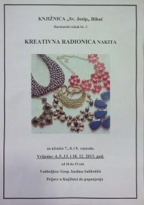 Plakat za kreativnu radionu