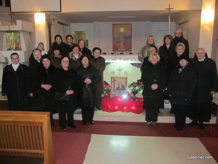 Proslava sv. Marie de Mattias, utemeljiteljice sestara Klanjateljica Krvi Kristove