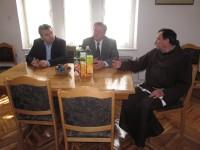 Posjet načelnika Bihaća i predsjedavajućeg OV Bihać župnom uredu